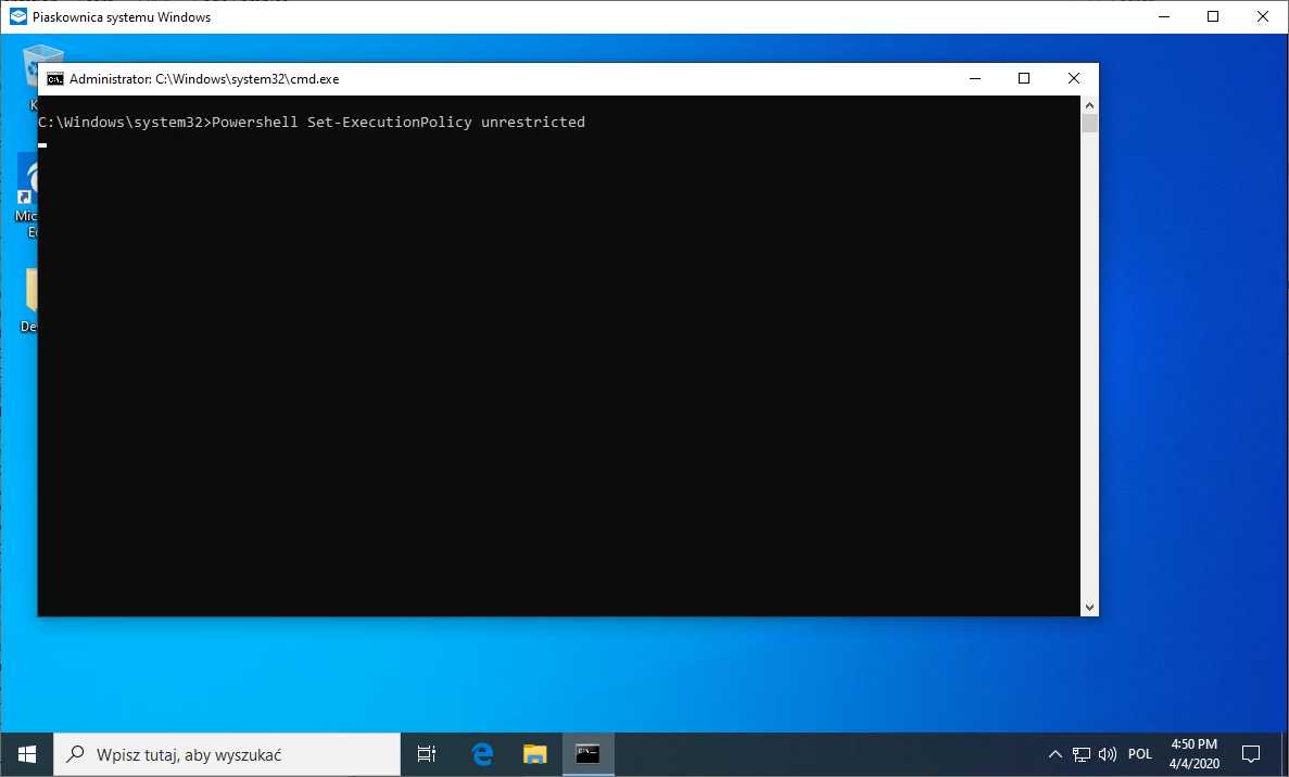 WindowsSandbox